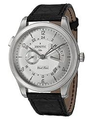 Affordable!! Zenith Class Reserve De Marche & Dual Time Men's Watch 03-0520-683-01-C506