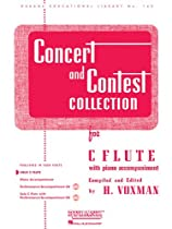 Concert and Contest Collection for C Flute: Solo Part (Rubank Educational Library)