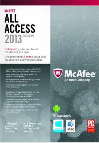 MCAFEE INC MCAFEE ALL ACCESS FOR INDIVIDUAL 2013