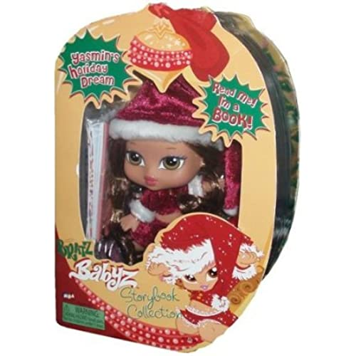 Bratz (  즈 ) Babyz Storybook Collection 5 Inch Doll - Yasmin's Holiday Dream with Hairbrush and Story Book 돌 인형 피규어(병행수입)-