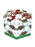 Decoracion Navideña Set Colgante decorativo 14 Uds. Árbol Navidad Lazo Memory