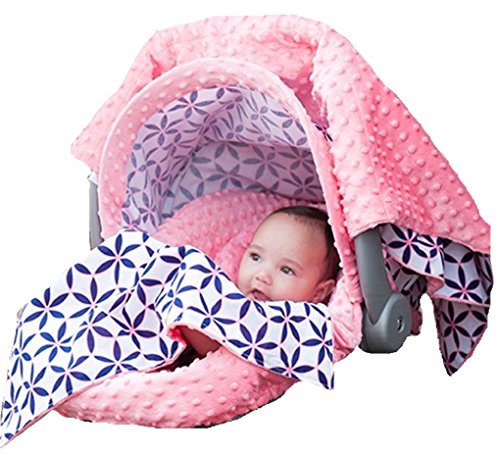 THE WHOLE CABOODLE CARSEAT CANOPY BABY CAR SEAT COVER 5 PC SET NEW ~ JAYDEN ~