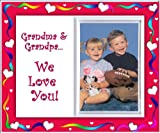 """Grandma & Grandpa, We Love You! - Picture Frame Gift"""