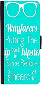 Snoogg Wayfarers Cooler Before You Know Graphic Snap On Hard Back Leather + P...