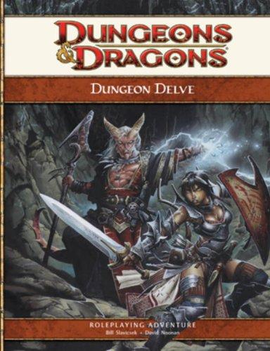 Dungeon Delve: A 4th Edition D&D Supplement (D&D Adventure) PDF