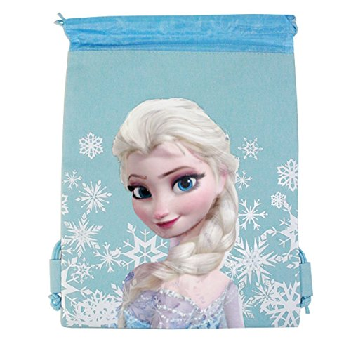 Disney Frozen Drawstring Backpack - Snow Blue - 1