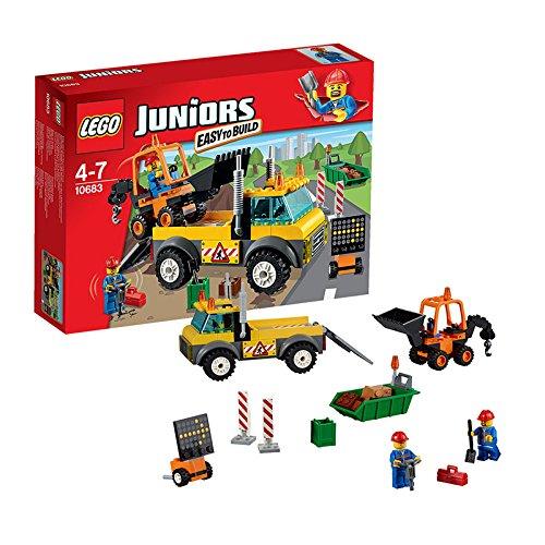 レゴ ジュニア 道路工事トラック 10683