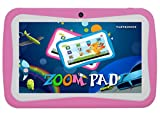 ZOOMPAD 7 PINK KIDS ANDROID TABLET PC 442 KITKAT DUAL CAMERA WIFI NOW WITH FREE SILICONE CASE SCREEN PROTECTOR PINK