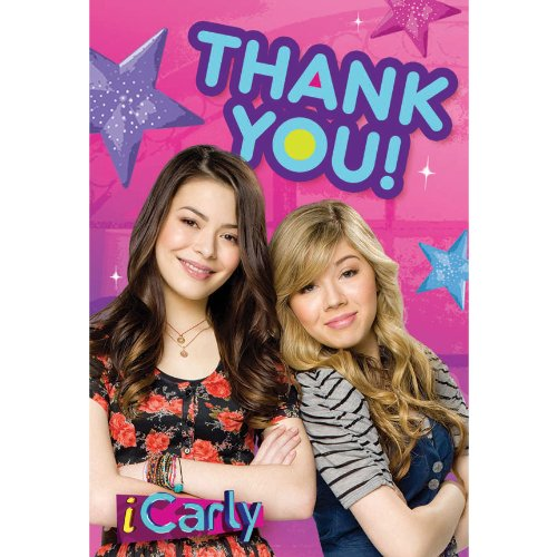 iCarly Thank You Notes w/ Envelopes (8ct) - 1