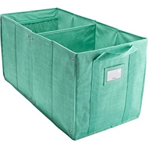 Thirty one room to grow utility bin in for Turquoise bathroom bin