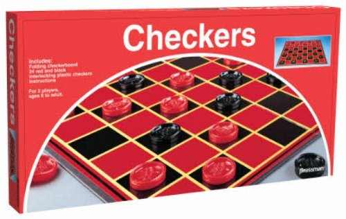 Pressman Checkers Board Games - 1