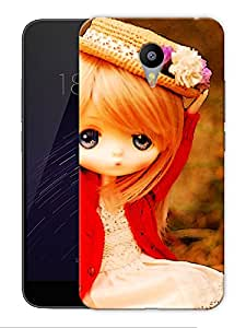 """Doll Cute Pretty Printed Designer Mobile Back Cover For """"Google Infocus M2 Note"""" By Humor Gang (3D, Matte Finish, Premium Quality, Protective Snap On Slim Hard Phone Case, Multi Color)"""