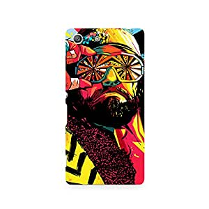 TAZindia Designer Printed Hard Back Mobile Case Cover For Sony Xperia M5