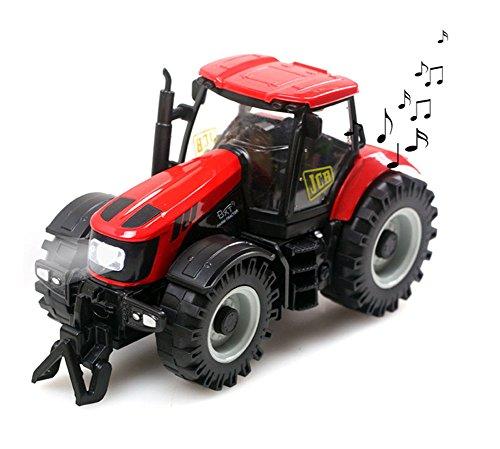 Kinder-132-Skala-Modell-Auto-LKW-Spielzeug-Diecast-Klassische-Bauer-Bauernhof-Fahrzeug-Traktor-Spielzeug-mit-Scheinwerfer-und-Musik-bestes-Geschenk-fr-Kids-Kleinkind-Mdchen-Jungen-ab-3-Jahre-rot