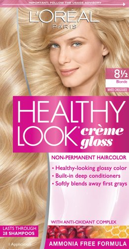 L'Oreal Paris Healthy Look, 8.5 Blonde/White