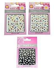 3D Nail Art Stickers By Via Mazzini (Set Of 3) - NLS0136