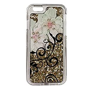 Debbie Brooks Flower Vine iPhone 6 Clear Case - Gold