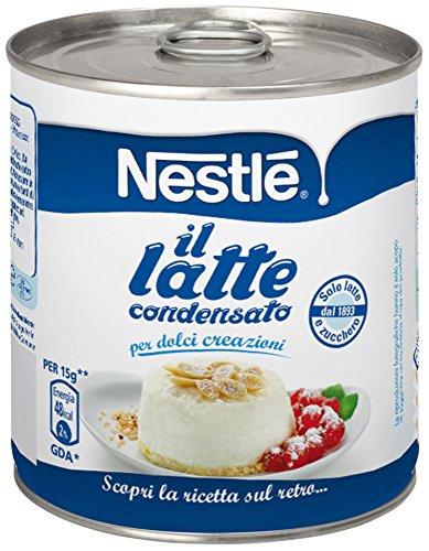 NESTLÉ IL LATTE CONDENSATO latte intero concentrato zuccherato ideale per ricette dolci lattina 397g