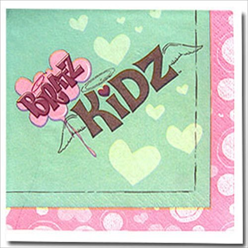 Bratz Kidz Small Napkins (16ct) - 1