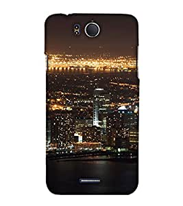 Print Haat Back Case for Infocus M530 (Multi-Color)