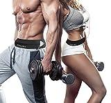 MAIGG Laufgürtel Hüfttasche Sport-Bauchtasche - Jogging Gürtel Handy & Geld Haltegürtel mit Schlüsselhaken, Ideal für Workouts,Fitness, Training, Sport, Fitnessstudio -Vier Taschen - Unisex - Running Belt