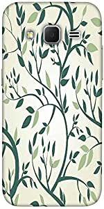 Snoogg Vector Seamless Pattern With Branches Designer Protective Back Case Co...