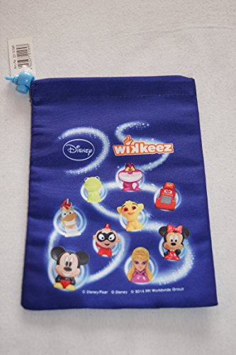 Rewe Disney Wikeez Sammelfiguren Stoff-Beutel für Figuren