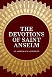 img - for The Devotions of Saint Anselm book / textbook / text book