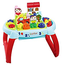 Ecoiffier Maxi Abrick Discovery Table, Multi Color