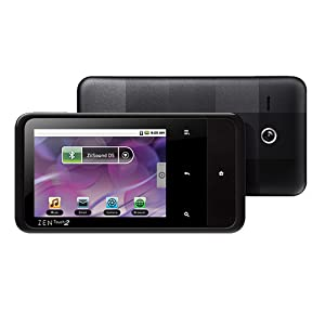 Creative ZEN Touch 2 8 GB Android Based MP3 and Video Player (Black)
