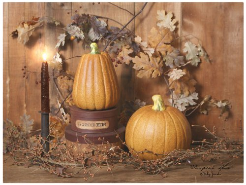 Ohio Wholesale Radiance Lighted Pumpkin Spice Canvas Wall Art, From Our Harvest Collection