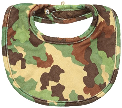 Mud Pie Baby-Boys Camo Bib, Multi, 12M front-568093