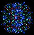Proxima Direct® 100 LED 17M Multi Colour Solar Powered Fairy Light Waterproof -- Garden Lights Outdoor Party Lights