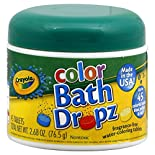Crayola Color Bath Dropz, 45 tablets 2.68 oz (76.5 g)