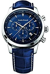 Louis Erard Heritage Collection Swiss Quartz Blue Dial Men's Watch 13900AA05.BDC102