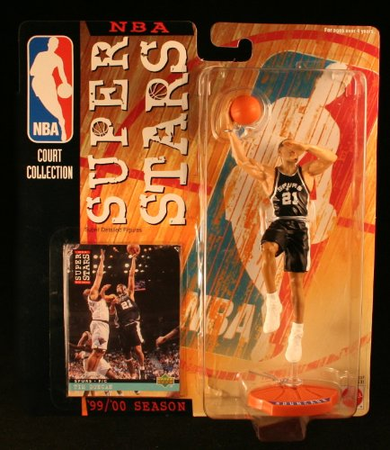 Tim Duncan Action Figure - NbA Court Collection Super Stars '99/'00 Season