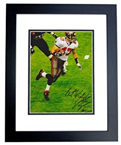 John Lynch Autographed Hand Signed Tampa Bay Buccaneers 8x10 Photo - BLACK CUSTOM... by Real Deal Memorabilia