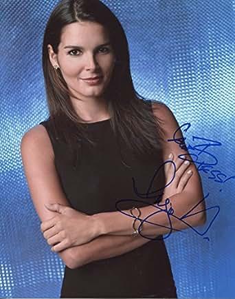 Angie Harmon Signed Rissoli & Isles Dr. Maura Isles Color 8x10 Photo