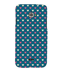 Fantastic Heart Design 3D Hard Polycarbonate Designer Back Case Cover for InFocus M350