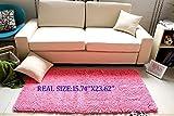 "Luxbon Approx. 15.74""x23.62"" Fiber Wholesales Color Pink Soft/smooth/flexible Carpet/mat/rug Floor/ Bedroom/living Room/bathroom/kitchen/area/home Decoration"