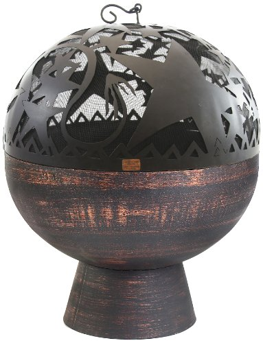 Good Directions FB-4 Copper 26-Inch Fire Bowl with Orion FireDome