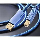 フルテック ハイエンドオーディオグレードUSBケーブル 【A】タイプコネクターオス⇔【B】タイプコネクターオス (1.2m) GT2 USB-B/1.2m