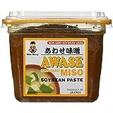 Miko - Awase Miso Soyabean Paste (Aka + Shiro) - 500 Gram - GMO Free Japanese Miso Paste