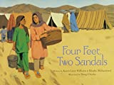 img - for Four Feet, Two Sandals by Karen Lynn Williams, Khadra Mohammed (2007) Hardcover book / textbook / text book