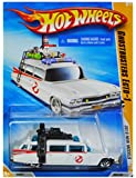 HOT WHEELS 2010 NEW MODELS 25 OF 44 GHOSTBUSTERS ECTO-1 WHITE WAGON