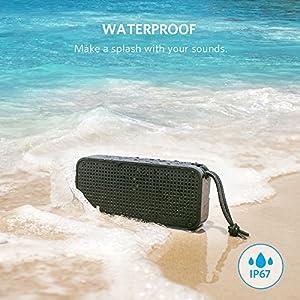 Anker SoundCore Sport XL �ݡ����֥� Bluetooth ���ԡ����� ��IP67 �ɿ�&�ɿ�ǧ�� / 16W �����ǥ������� / ��Х���Хåƥ��ǽ��ܡ�