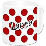 Personalised Large Polka Mug - One Colourby GoPersonalised