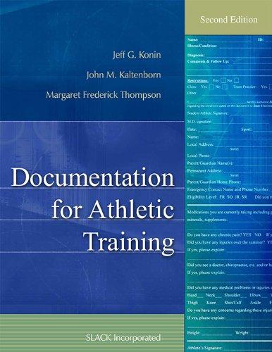 Documentation for Athletic Training