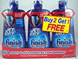 Finish Jet Dry Rinse Agent (Pack of 3) 16 Fl Oz Each 48 Fl Oz Total