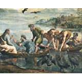 The Miraculous Draught of Fishes, by Raphael (Print On Demand)